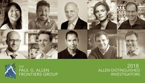 The Paul G. Allen Frontiers Group announces 10 new Allen Distinguished Investigators