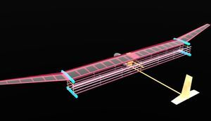 Silent and Simple Ion Engine Powers a Plane with No Moving Parts